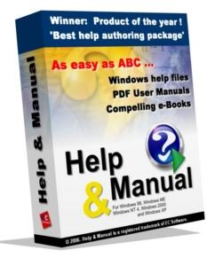Help & Manual, Professional Edition
