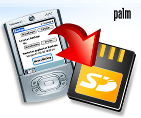 Resco Backup Pro, ��� Palm OS  2.10