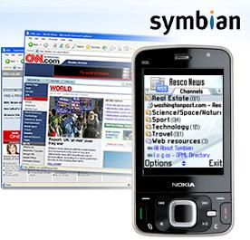Resco News for Symbian, 1.25