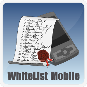 WhiteList Mobile, 1.0