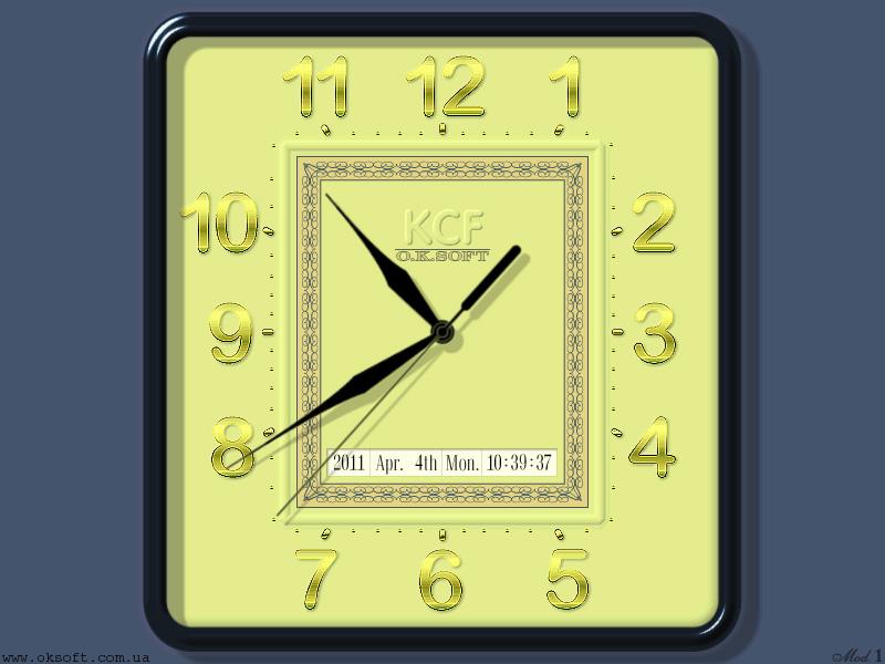 KCF Clock Model 1, - 1.2