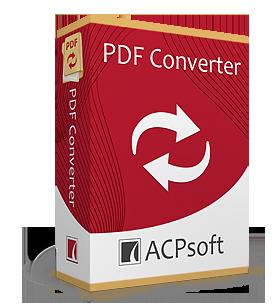 ACPsoft PDF Converter, 1.0