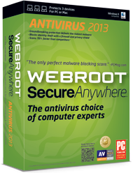 Webroot SecureAnywhere AntiVirus, 2013