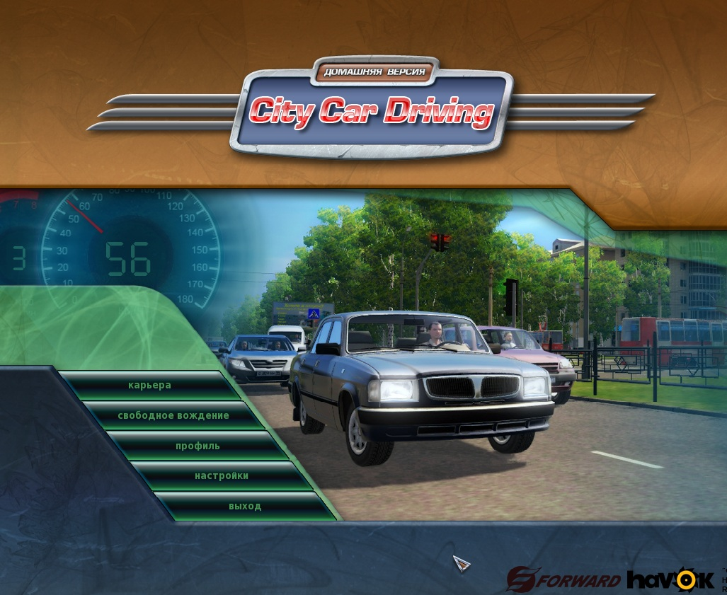 City Car Driving. �������� ������