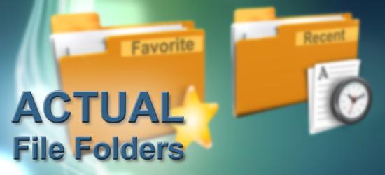Actual File Folders, 1.0