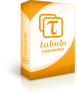 Tabula converter, Windows