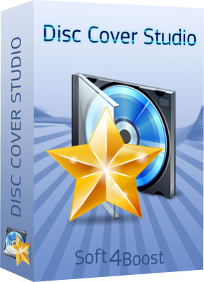 Soft4Boost Disc Cover Studio, 2.7.5.185