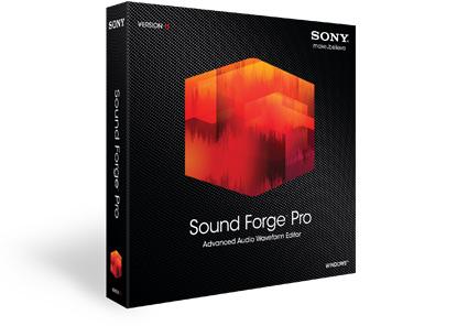 Sony Sound Forge (����������� ������), Pro 11