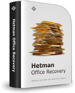 Hetman Office Recovery, �������� ������