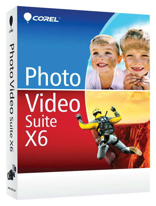 Corel Photo Video Suite X6, English (����������� ������)