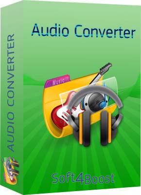 Soft4Boost Audio Converter, 2.0.1.101