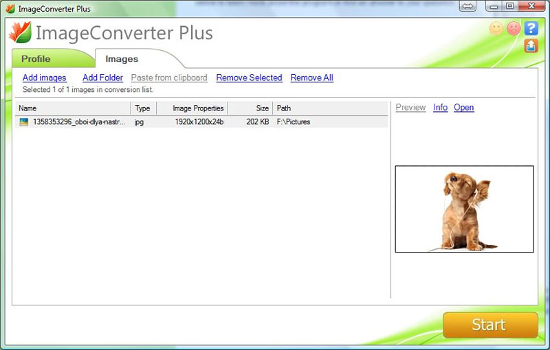 ImageConverter Plus, 8.0