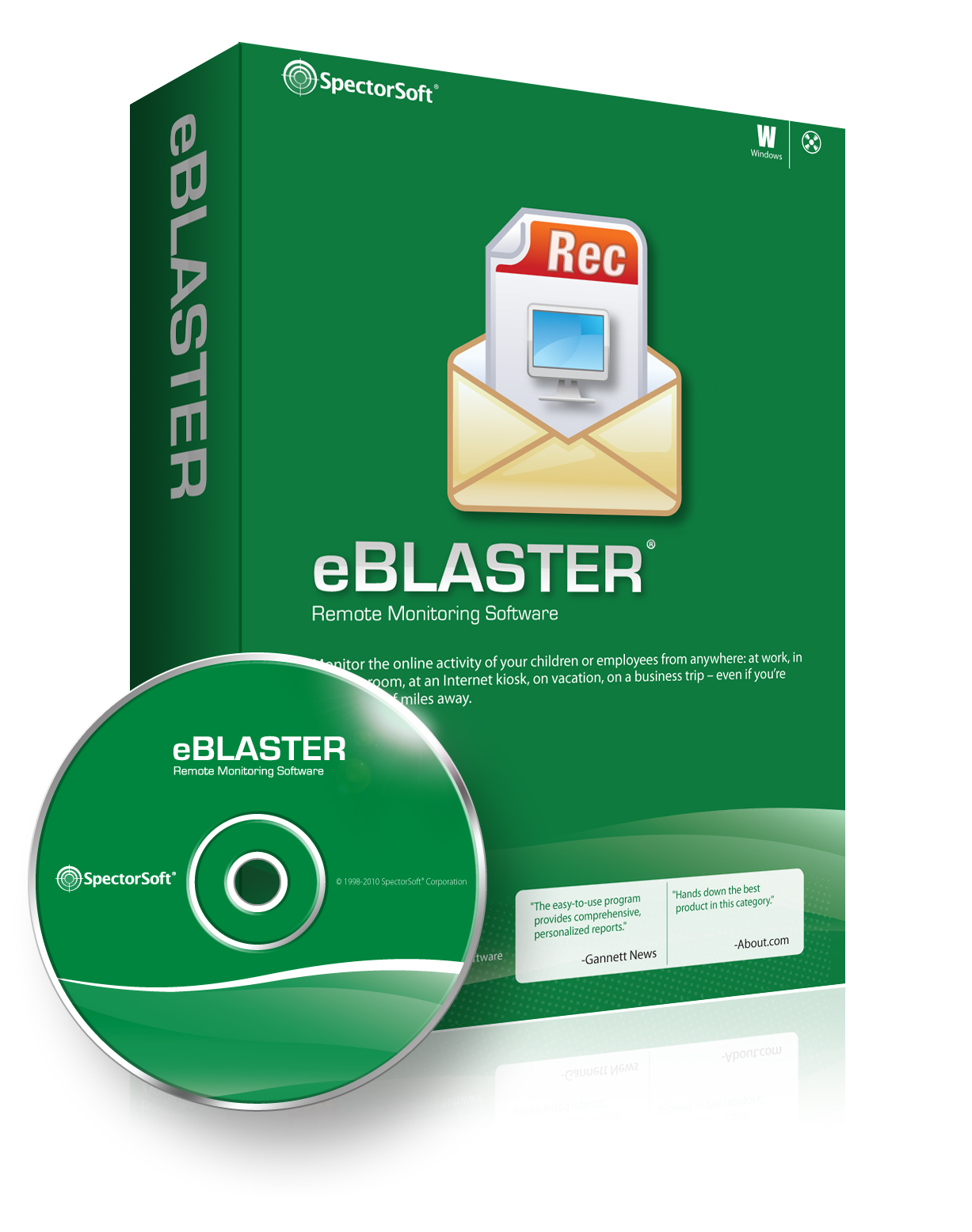 eBlaster, for MAC