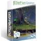 EleFun Multimedia Лес Бабочек — Анимированная Заставка