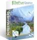 EleFun Multimedia Горная река — Анимированная Заставка