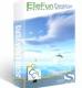 EleFun Multimedia Облака над океаном — Анимированная Заставка