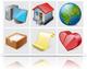 Vista Artistic Icons 3.0 (пиксельные и векторный форматы)