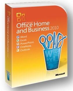 Microsoft Corporation Microsoft Office для Дома и Бизнеса 2010
