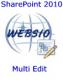 Websio SharePoint Multi Edit Feature