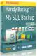 Бэкап MS SQL для Handy Backup