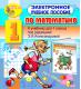 Электронное учебное пособие по математике для  1-го класса к учебнику Э. И. Александровой