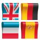 Набор интерактивных учебников по английскому, немецкому, французскому и испанскому языкам