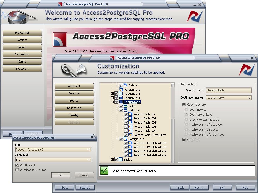 DMSoft Technologies Access2PostgreSQL Pro