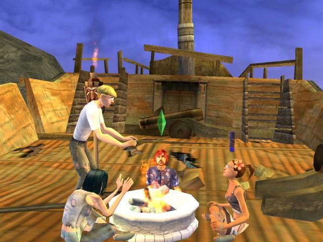 Sims 2 робинзоны скачать торрент - фото 8