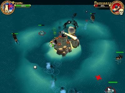 Скриншот программы Пираты. Битва за Карибы.