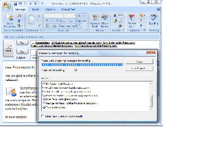 Скриншот программы Send Personally