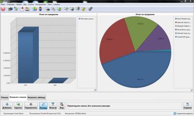 Скриншот программы IncoPOS Фронт & Бэк офис