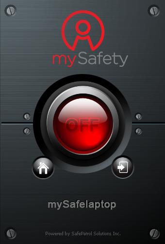 Скриншот программы mySafeLaptop Анти-вор 1.0.36