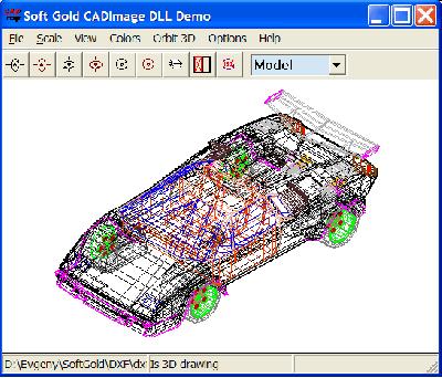 Скриншот программы Плагин CAD Image DLL 12.0