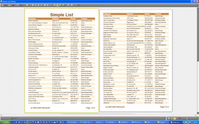 Скриншот программы Stimulsoft Reports.Wpf 2018.1