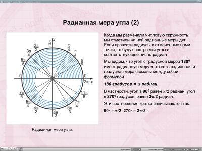 Скриншот программы Уроки алгебры Кирилла и Мефодия. 11 класс Версия 2.1.6
