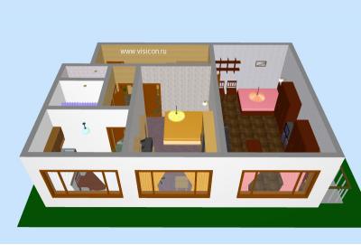 Скриншот программы Визикон 1.3