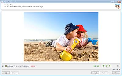 Скриншот программы Hetman Photo Recovery (восстановление фотографий) Коммерческая версия