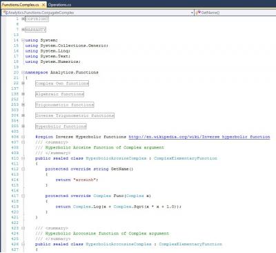 Скриншот программы Analytics & Physics C# 6.0