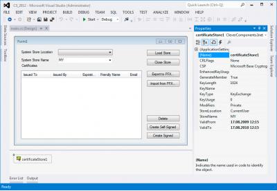 Скриншот программы Clever Internet .NET Suite 9.1
