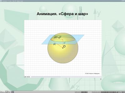 Скриншот программы Уроки геометрии Кирилла и Мефодия. 11 класс Версия 2.1.6