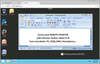 Скриншот программы SHUTLE RDS-WebAccess — веб доступ к вашим приложениям 11.10.1.3