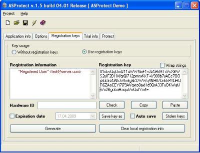 Скриншот программы ASProtect 32 (SKE) Электронная версия