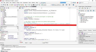 Скриншот программы RAD Studio 10.1 Berlin Professional